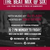 DJ Flash-Beat Mix At Six Spanish + Top 40 Hits May 5 2014