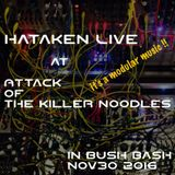 Hataken - Live  at  Attack  of  the killer noodles  in Bush Bash !