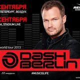 Dash Berlin - Live @ Vozdukh Club St. Petersburg (Russia) 2013.09.13.