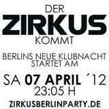 Music Star Promotion Interview - Sebastian Goldhagen -  Eventrelease Zirkus in Berlin
