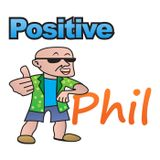 Gratitude Practice and an Opportunity Researcher on the Positive Phil Podcast Show