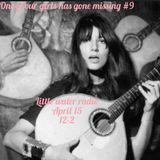 One of our girls has gone missing #9 Little Water Radio guest DJ Davoosh