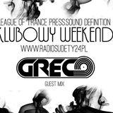 Grëco - Klubowy Weekend [Radio Sudety24] 18/11/18