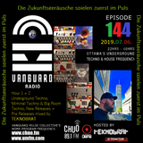 TEKNOBRAT on Episode 144 of Vanguard Pulse Radio on CHUO 89.1 FM + CJUM 101.5 FM 2019-07-06th