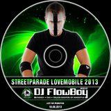 DJ FlowBoy - Streetparade Lovemobile 2013 Mix - SWISS HARDSTYLE MAFIA -
