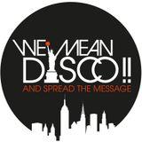 WE MEAN DISCO!! ++ NuSKool Boogie Spectrum Showcase - Live in Hamburg 2012