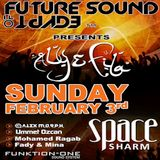 Alex M.O.R.P.H. – Live at FSOE Night (Space Sharm, Egypt) – 03.02.2013