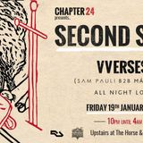 Chapter 24 presents Second Story / VVerses,  Horse and Groom promo mix Fri 19th Jan