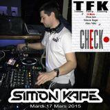 Simon Kape - Live at Check Point, Strasbourg (17-03-15) (Part 1)