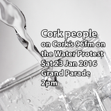 Cork people on 96fm about Water Protest on Sat 23 Jan 2016