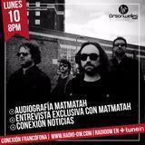 Conexión Francófona - 10-04-2017 - Audiografía Matmatah + Entrevista