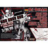 Dj Ocram @ The Hive, Linz (Austria) 03.10.2009