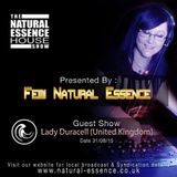 The Natural Essence House Show Episode 176 -  Lady Duracell www.natural-essence.co.uk