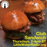 Club Sandwich #129 03-29-18 w/ Ellen Qbertplaya on littlewaterradio.org