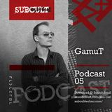 SUB CULT Podcast 05 - GamuT - Download Available!