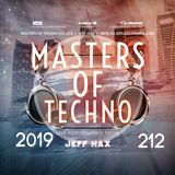 Masters Of Techno Vol.212 by Jeff Hax