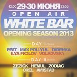 White Bar Opening Season live mix by Zezick