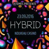 Breger @ Hybrid [Nouveau Casino] Paris 2016-09-23