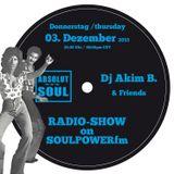 Absolut Soul Show /// 03.12.2015 on SOULPOWERfm