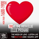 The Week of Love on Drive time with @DJEllieProhan on #TheBeatLondon 12.07.17