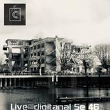 DJ CRYSTOWAR Live @ digitanal Se 46