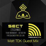 SECT Radio - 25/02/16 - Frequency FM - Matt Tdk Guest Mix - Skunkrock & Ford Foster