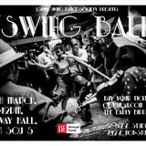My set at the LSE Swing Society Ball, Conway Hall, 20 March 2014