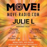 "JULIE L 25TH MARCH 2018 ""REMEMBER THESE LINEDANCE SHOW!"" - SHOW 80"