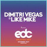 Dimitri Vegas & Like Mike - Live @ EDC Orlando 2017