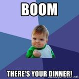 Boom, there's yir dinner - hard trance
