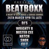 DJ Shox March BeatBoxx Promo Mix (UK Garage)