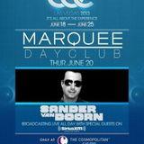 Sander van Doorn - Live @ Marquee Dayclub, Las Vegas (20.06.2013)