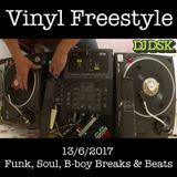 Vinyl Freestyle - Funk, Soul, B-boy Breaks & Beats 13-6-2017