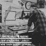 LowRise Radio w/Chrono 11/18/2016