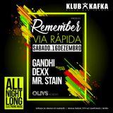 16.12.2017 - Gandhi, Dexx, Mr.Stain In Mode B3B @ Klub Kafka (Sintra) - Remeber Via Rapida - Part.2