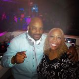 DJ STERL WITH HOST WDAS OWN PATTY JACKSON THURSDAYS AT CLUB POSH
