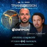 Driftmoon Opening Ceremony - Transmission – The Spirit Of The Warrior,17.03.2018, Bangkok, Thailand