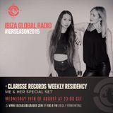 ME & her for Clarisse on Ibiza Global Radio - Agosto 15