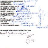 """""""DELTA V""""  mixed by Mirco """"micromix"""" Salvadori - recorded @ Sofa Studio/Venezia  a.d. 2002"""