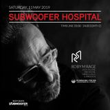 Roby M Rage at Subwoofer Hospital May 2019 on CUEBASE-FM