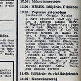 Popzene sztereóban. Szerkesztő: Gergely Katalin. 1987.07.14. Petőfi rádió. 13.05-13.45.
