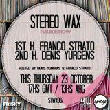 Denis Yurgens @ Stereo Wax October 23 2014