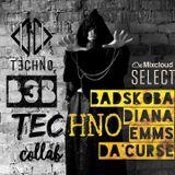 B3B [Hard Techno Collab] Da'Curse + Diana Emms + Badskoba.