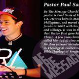 Pastor Paul Fontana March 11, 2015