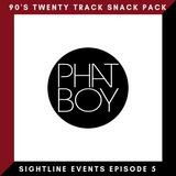 Sightline Events Episode 5 - 90's Twenty Track Snack Pack