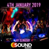 Elevate UK on Sound Radio Wales - Jay Slingsby 4th January 2019