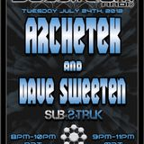 Basstream Radio on Glitch.FM 125 - VA Mixed by Dave Sweeten