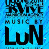 LuN Music Session // Hotel Es Vive IBIZA // THE POOLROOM // 09 June 2014
