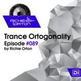 Richie Orton   Trance Ortogonality   Episode #089   Jan 22, 2018
