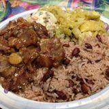 OXTAILS, RICE AND PEAS